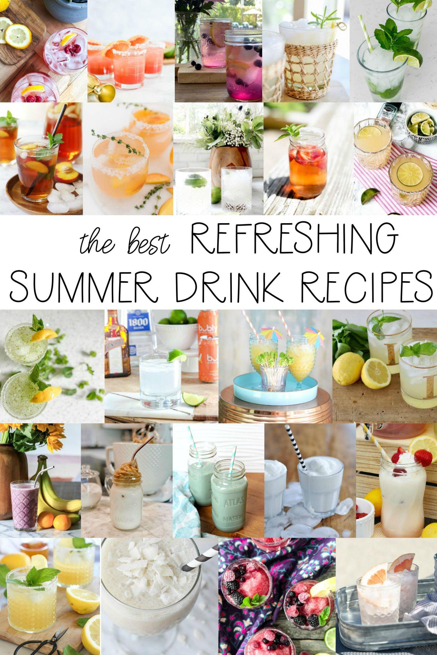 Summer Drink Recipe Ideas