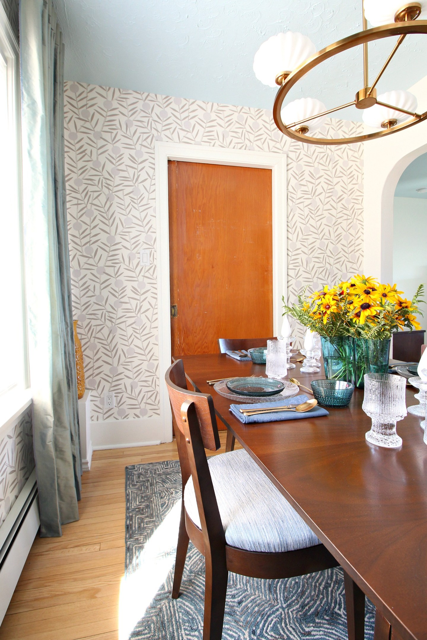 How to Hang Hygge & West Wallpaper
