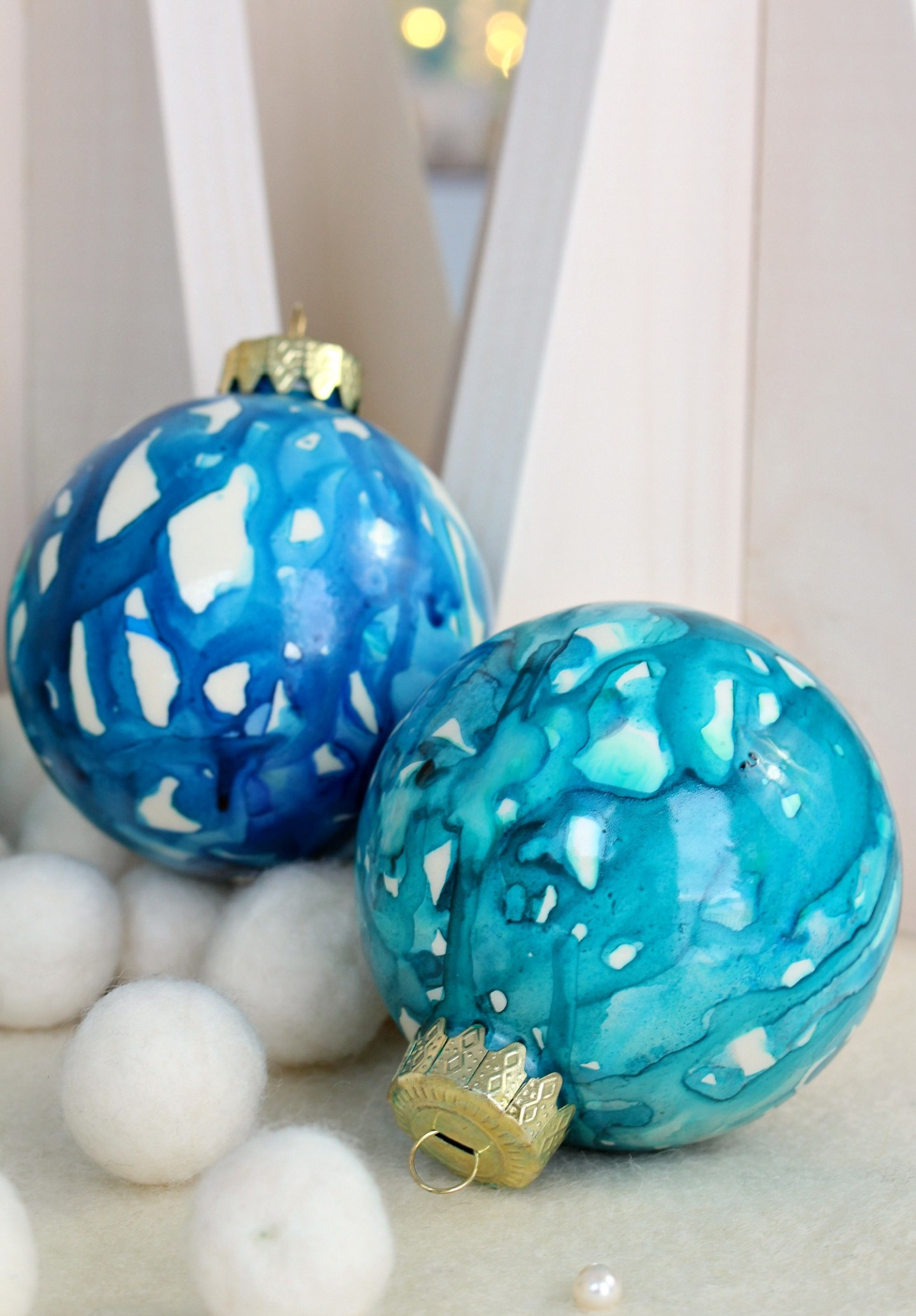 DIY Coastal Christmas Tree Ornaments