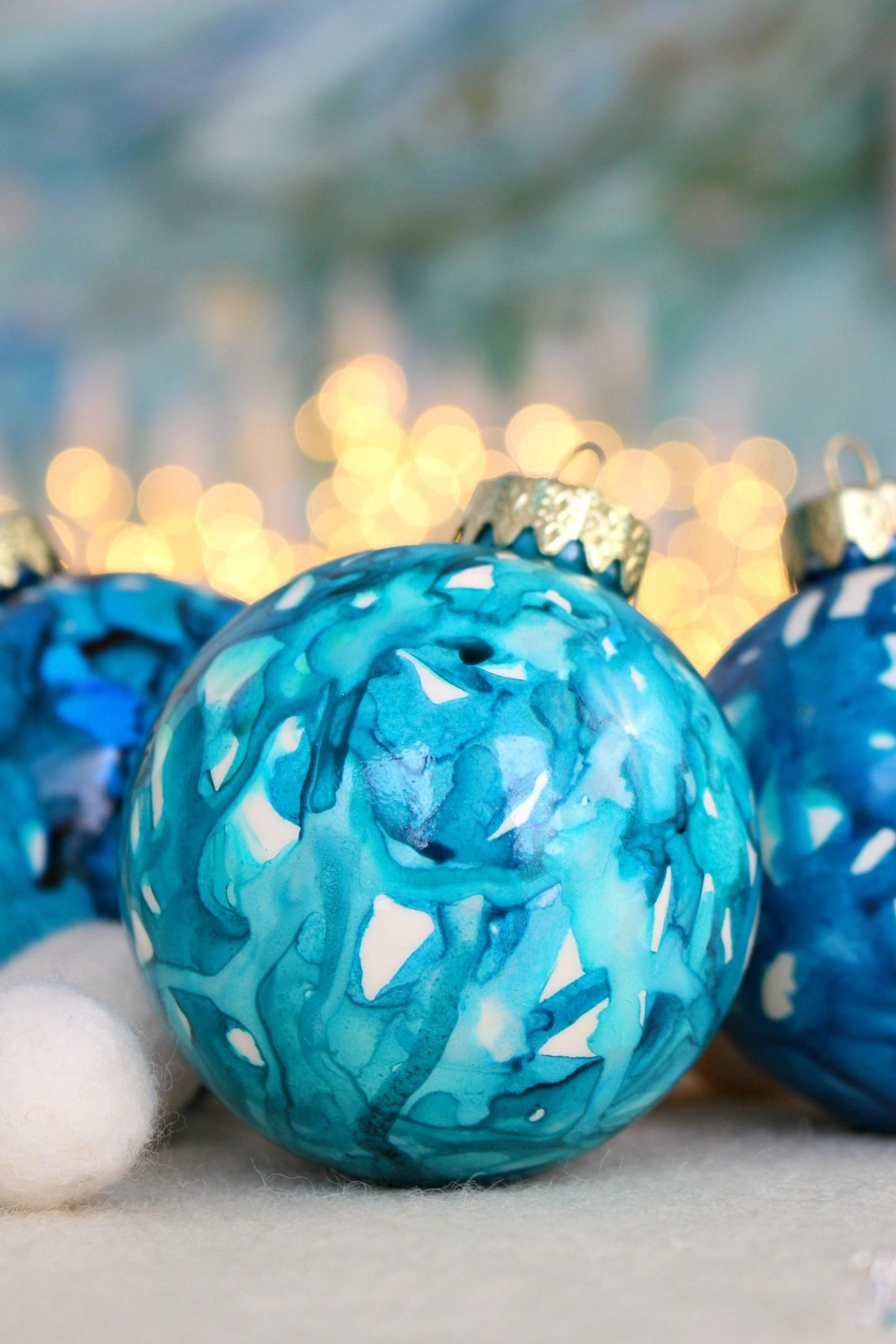 Lake Inspired Christmas Tree Ornament