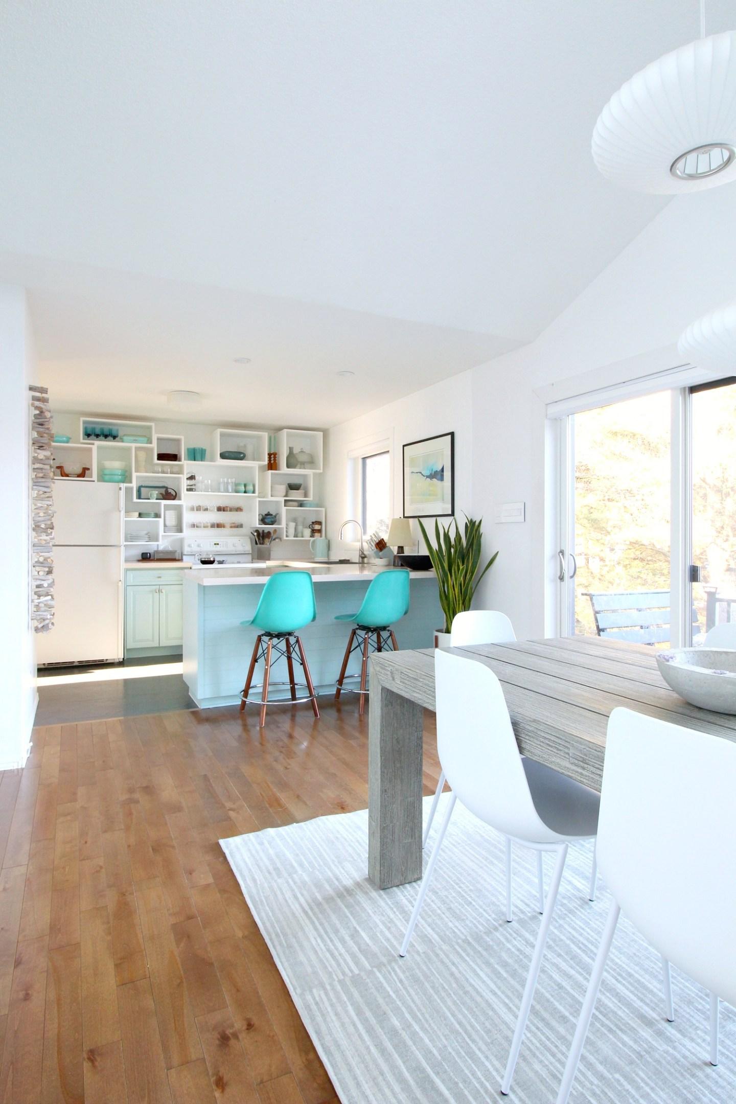 Light and Airy Coastal Kitchen Design