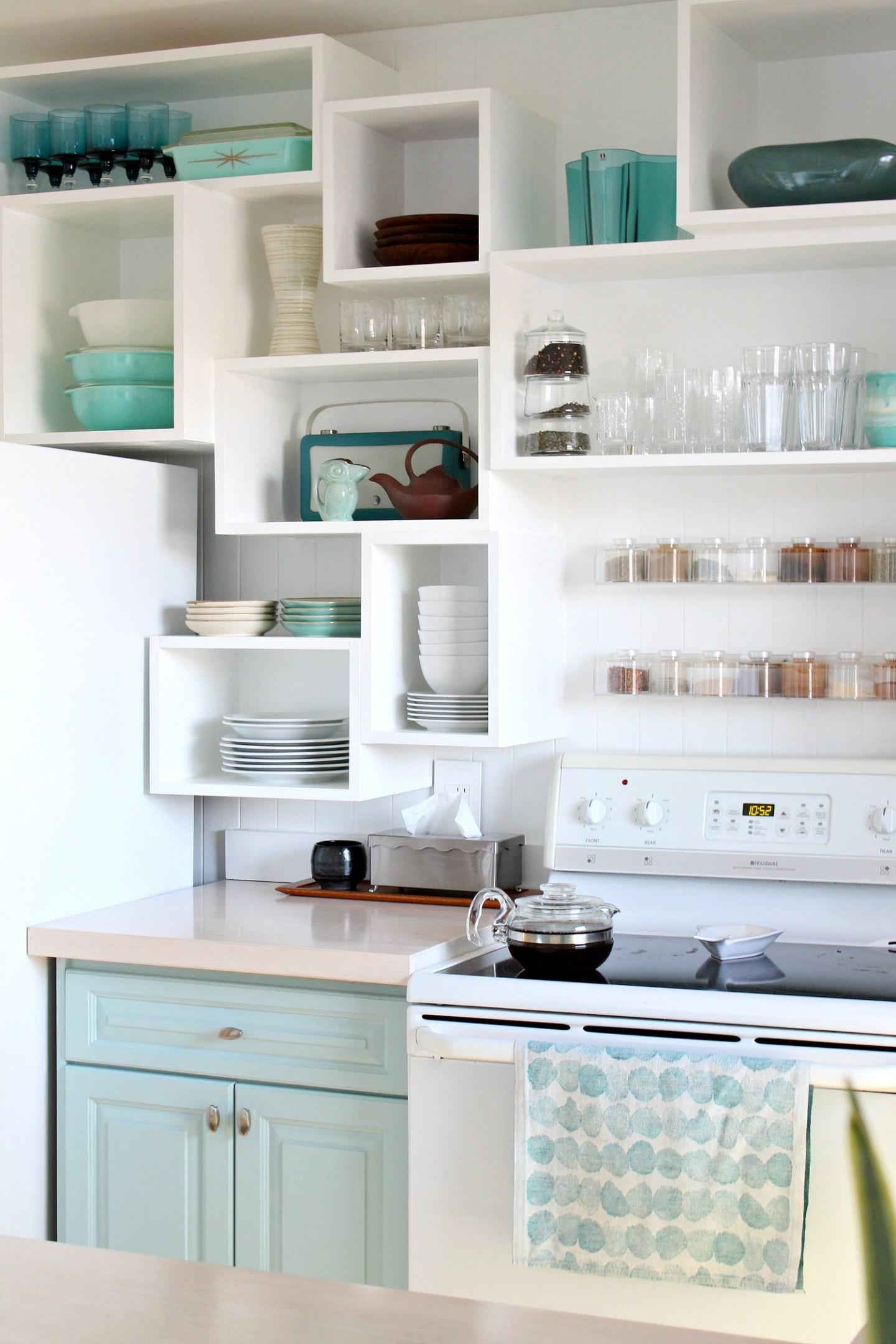 Light Aqua Cabinetry Color