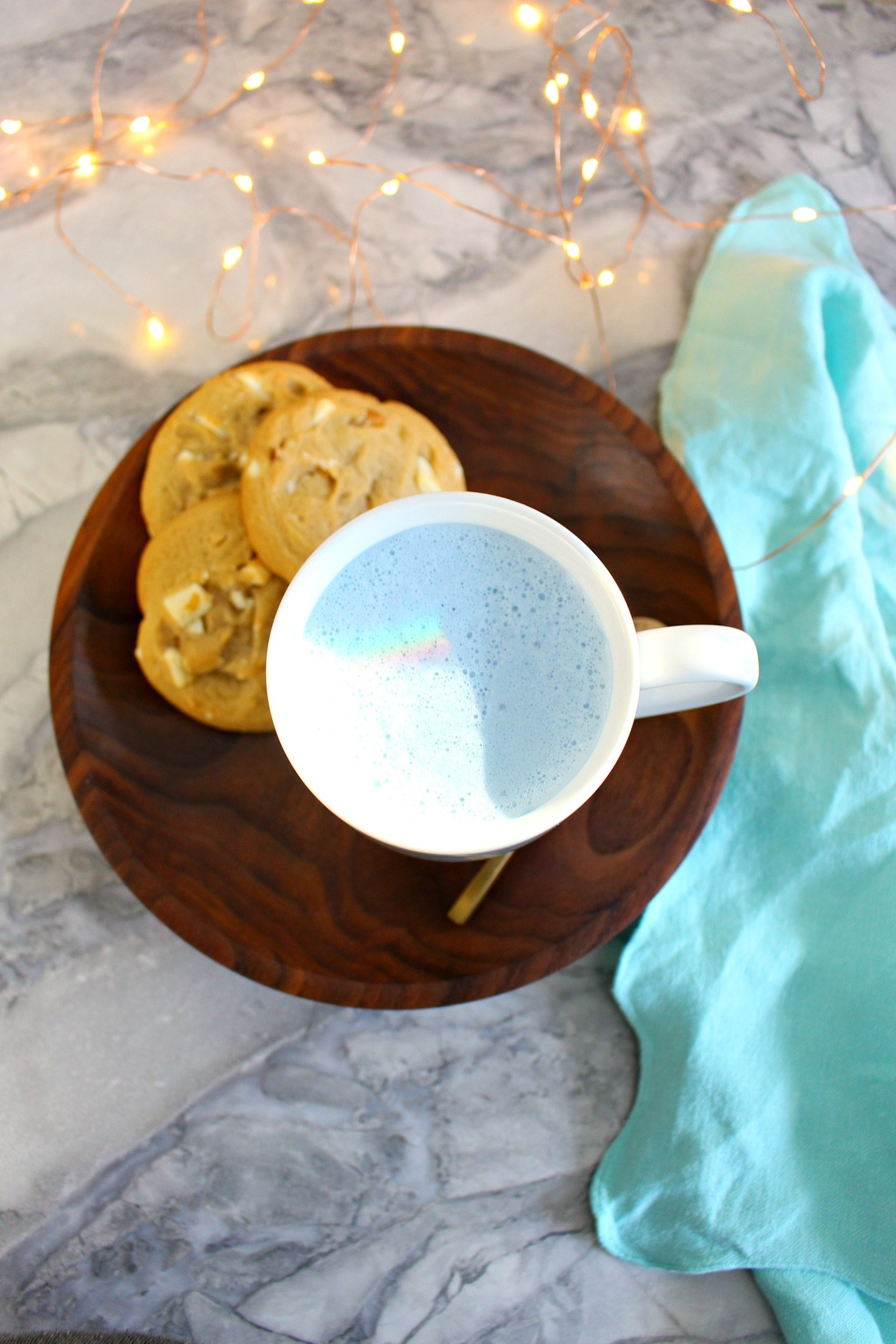 How to Make Moon Milk Blue