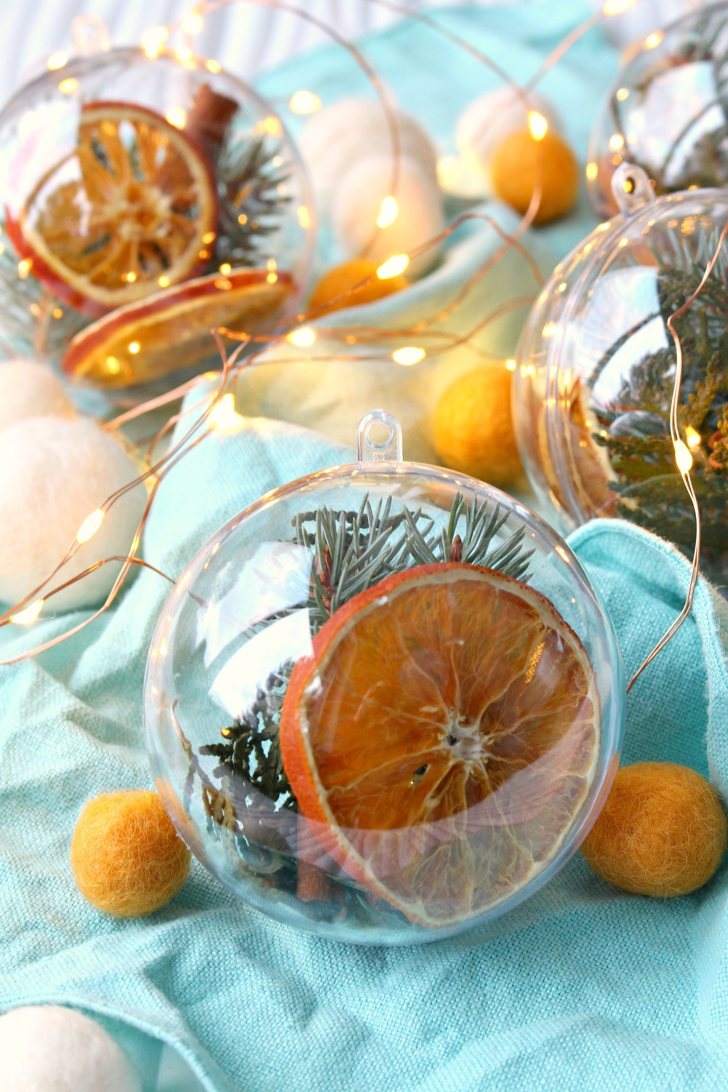 DIY Stove Top Simmer Fillable Ornament