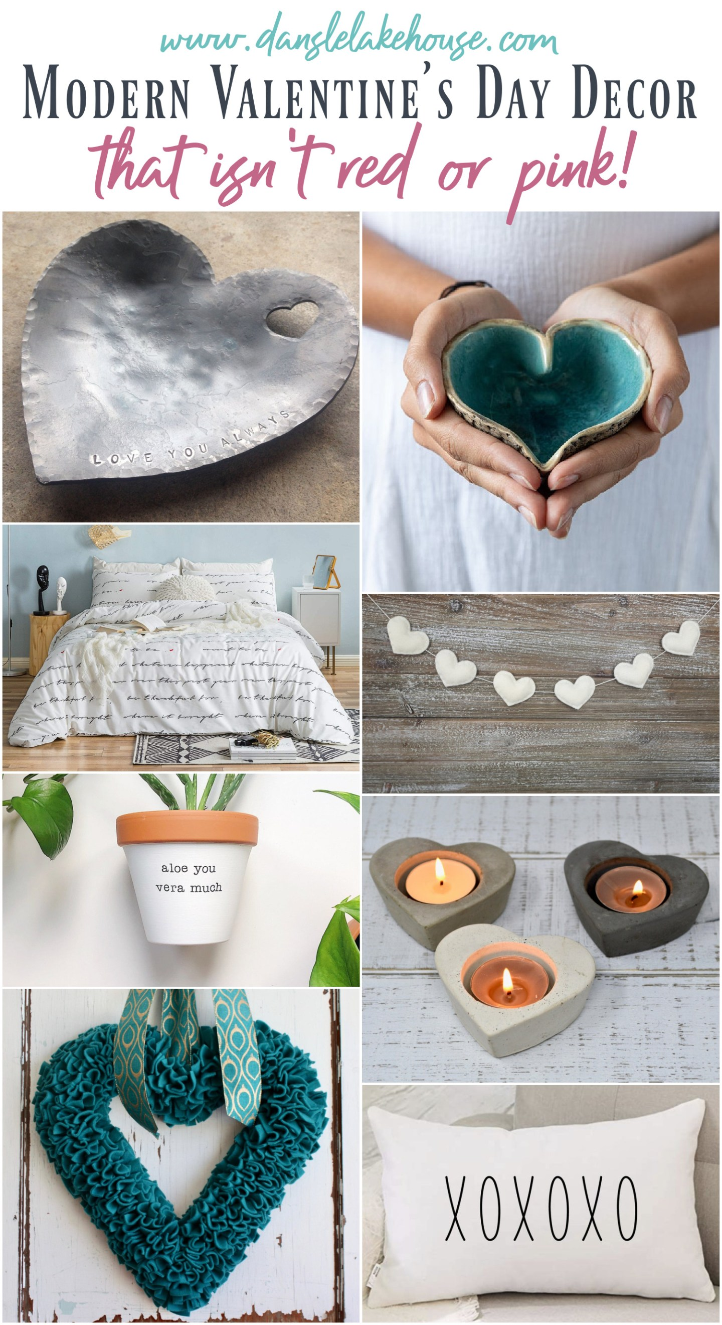 Valentine's Decor that isn't RED or PINK