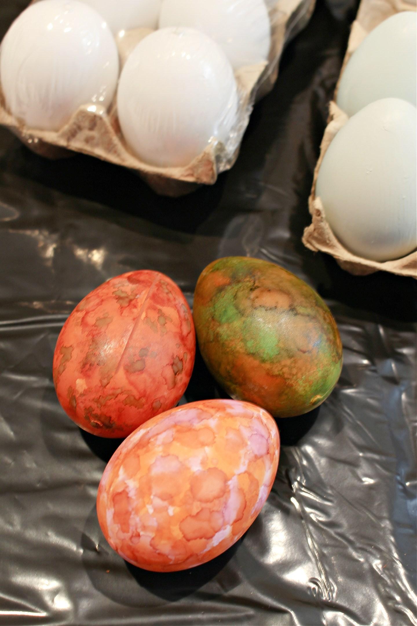 DIY Alcohol Ink Easter Eggs FAIL