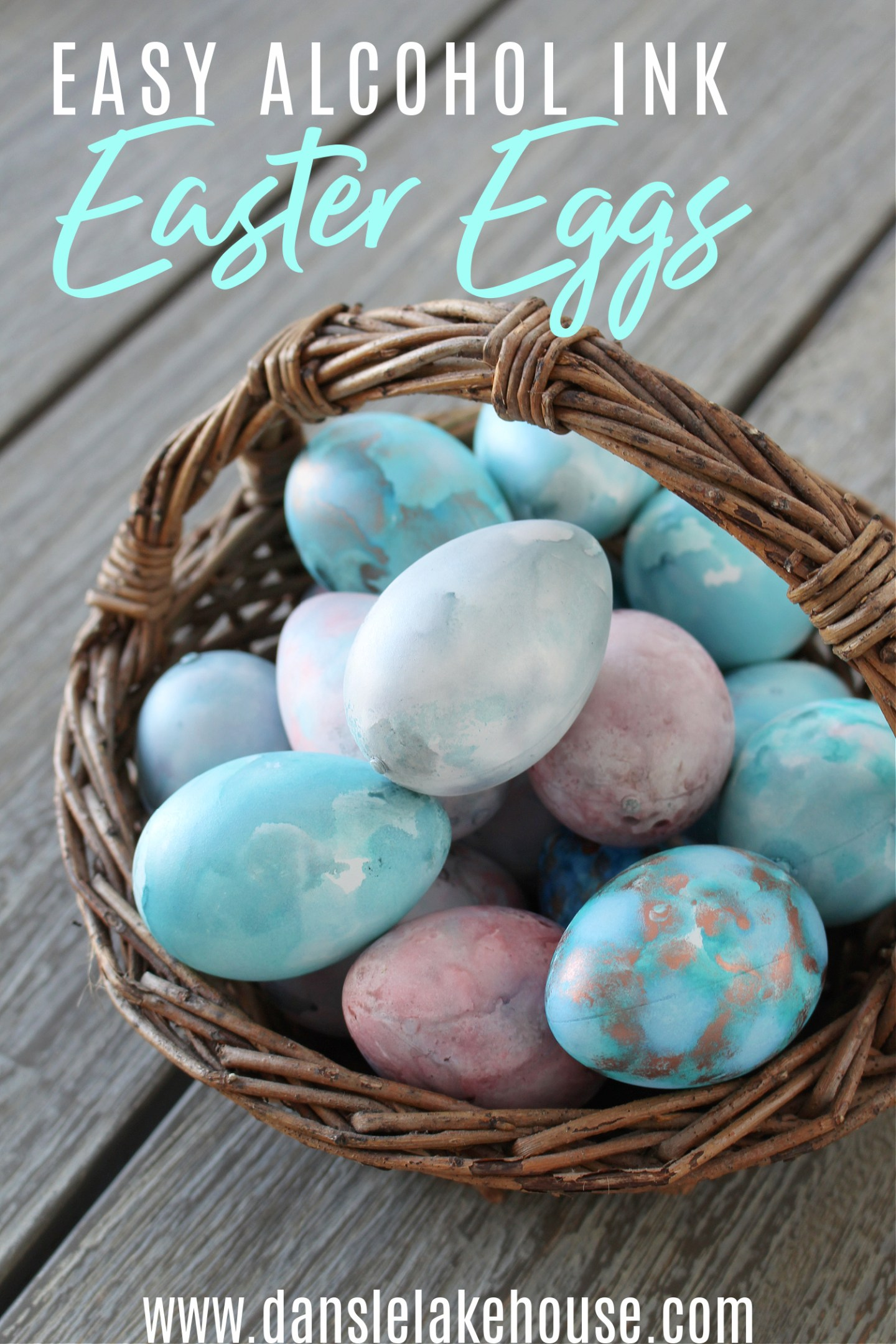 How to Make Alcohol Ink Easter Eggs