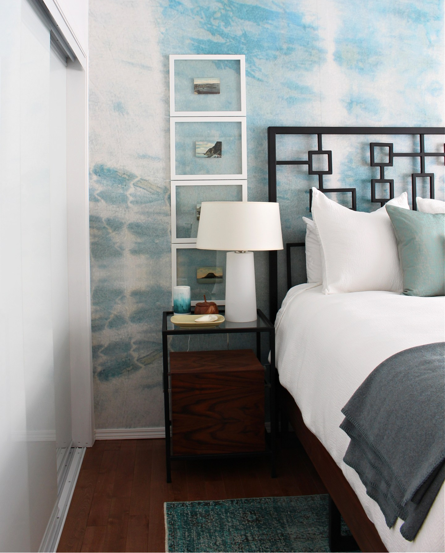 Shibori Effect Wall Mural