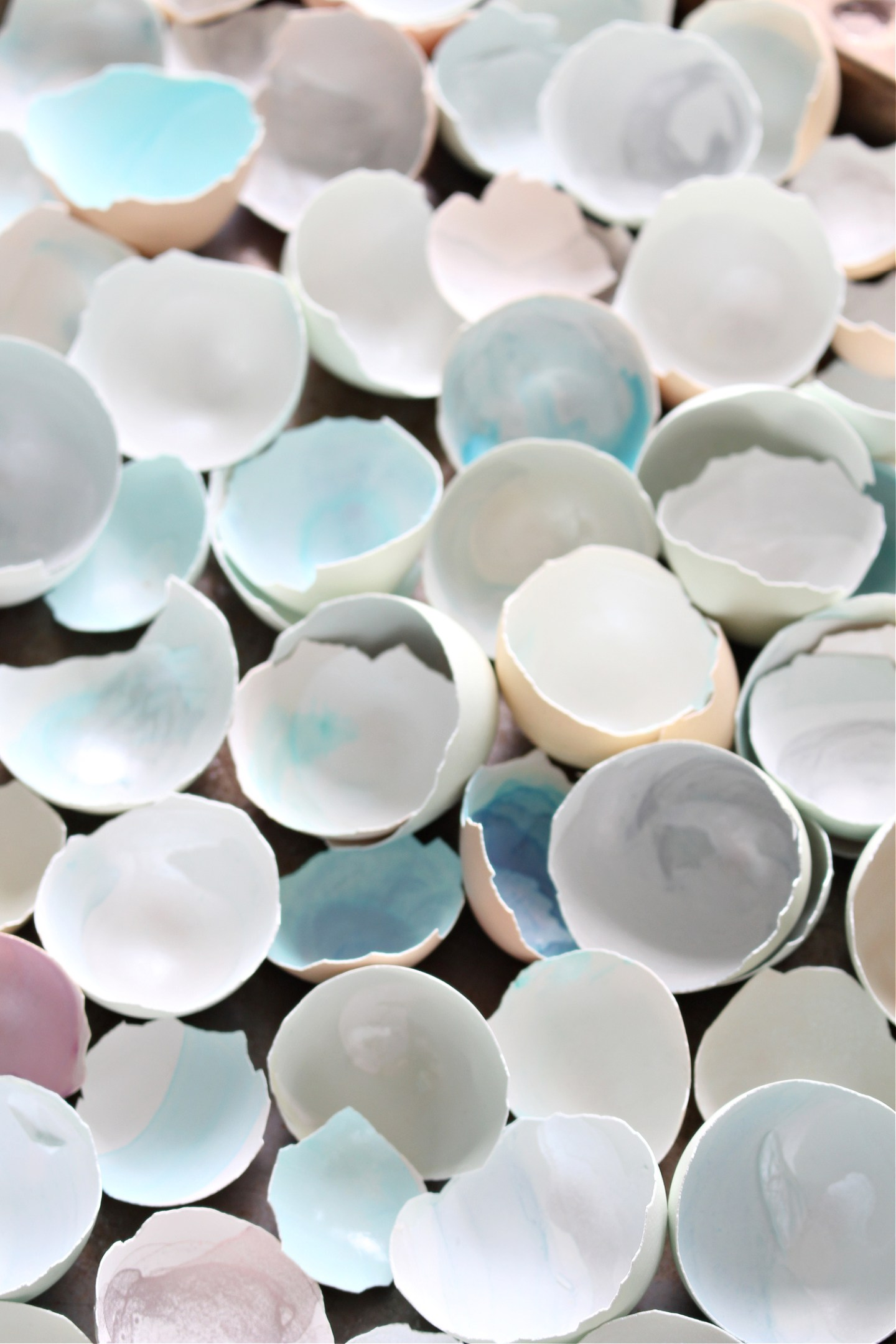 Craft idea for egg shells