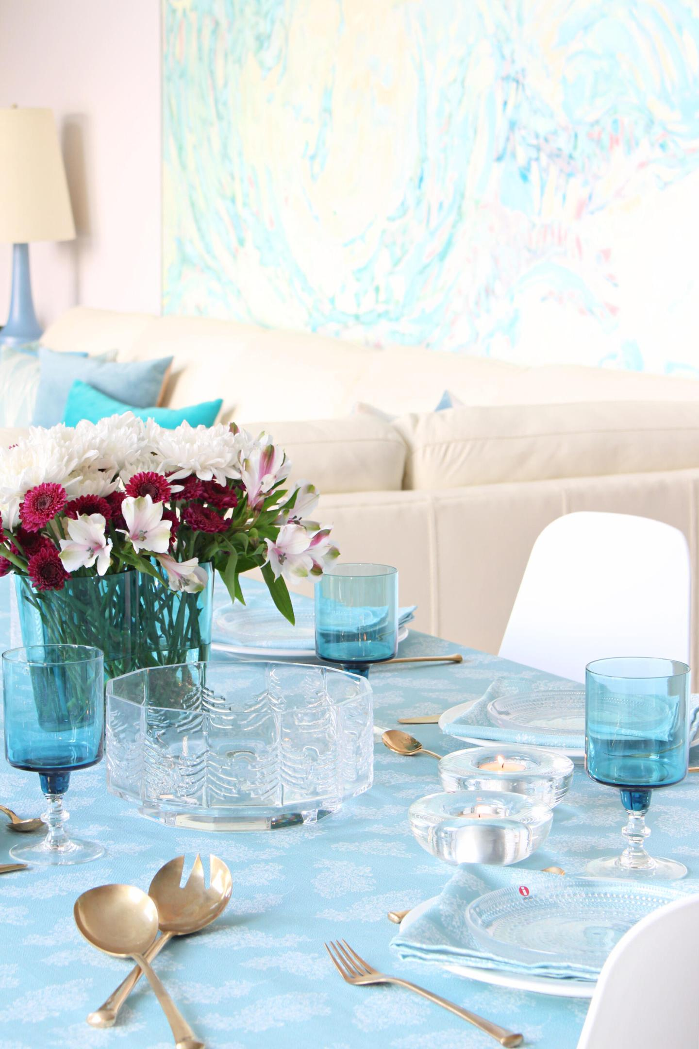 Summer Tablescape with Loom & Table