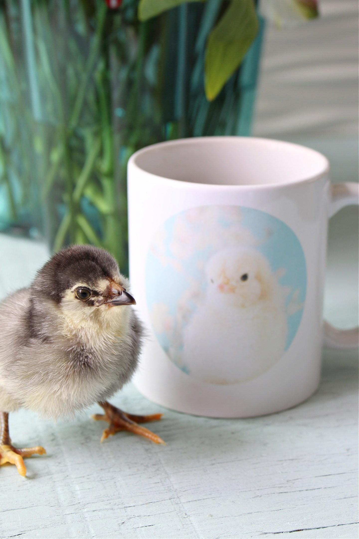 Mug printed with photo