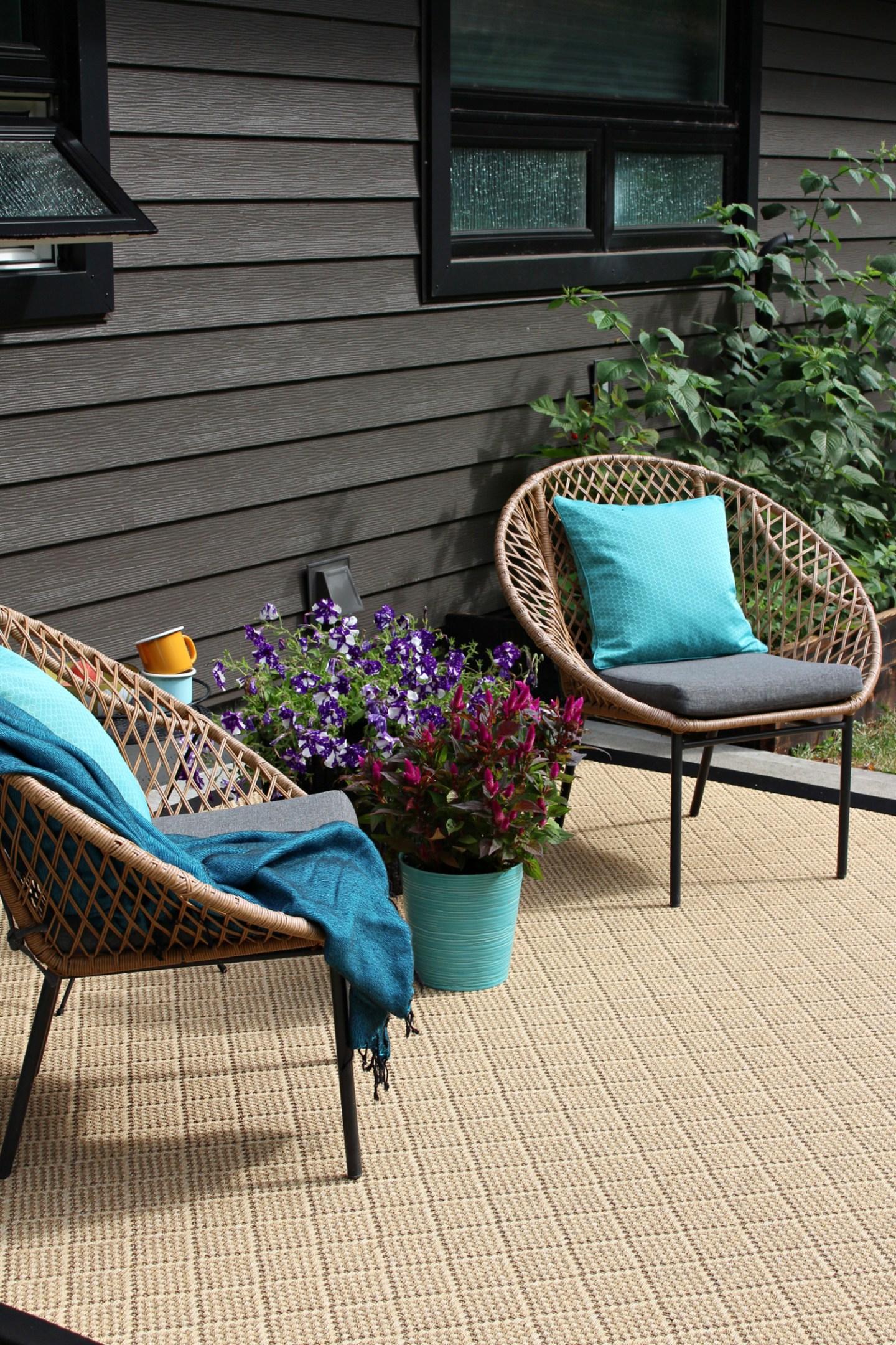 Tan Outdoor Area Rug
