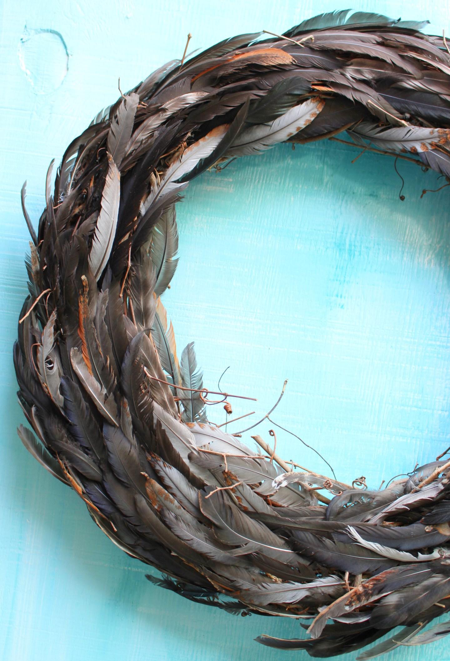 Chicken Feather Craft Ideas