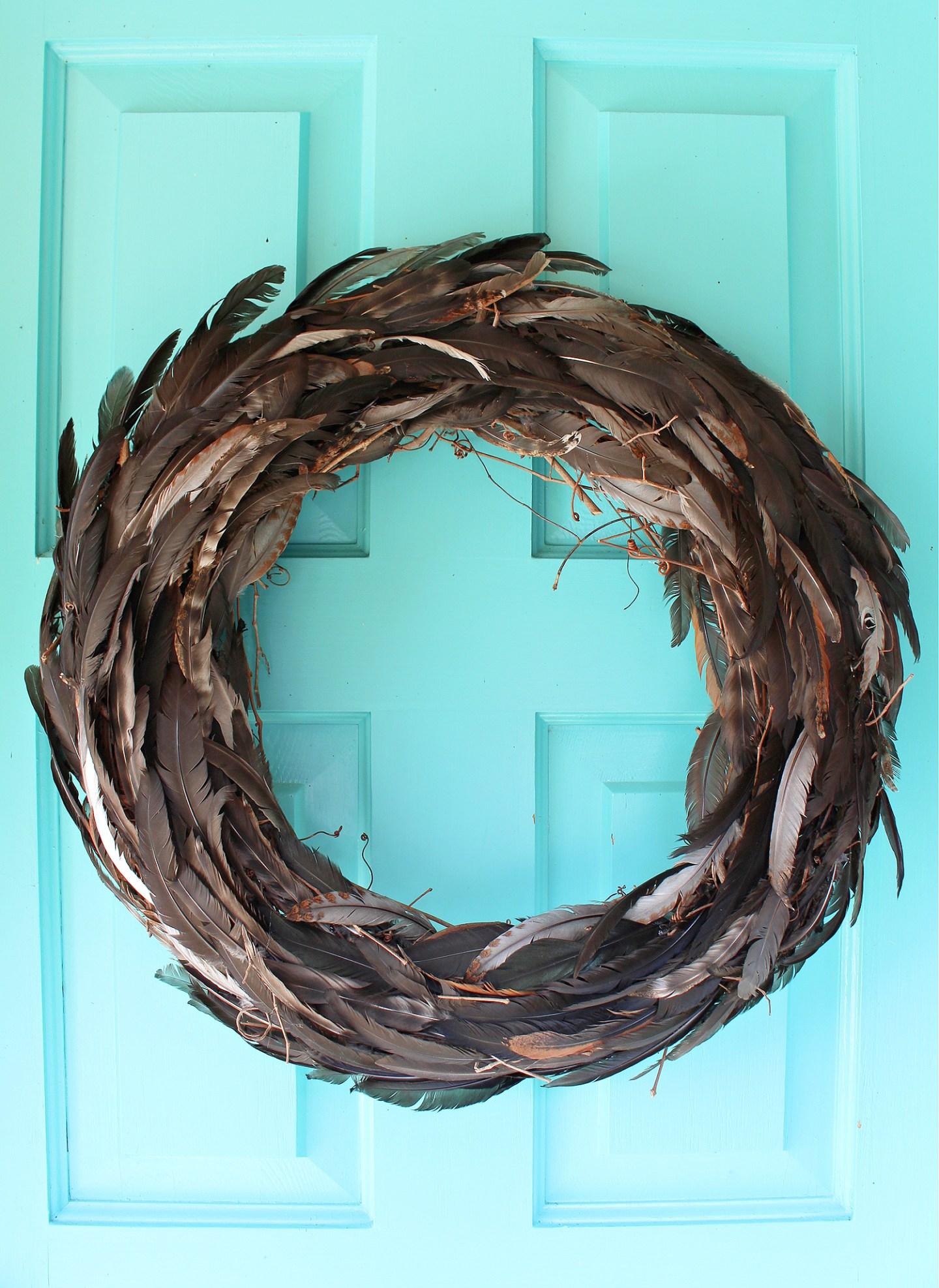 All Natural Fall Wreath DIY