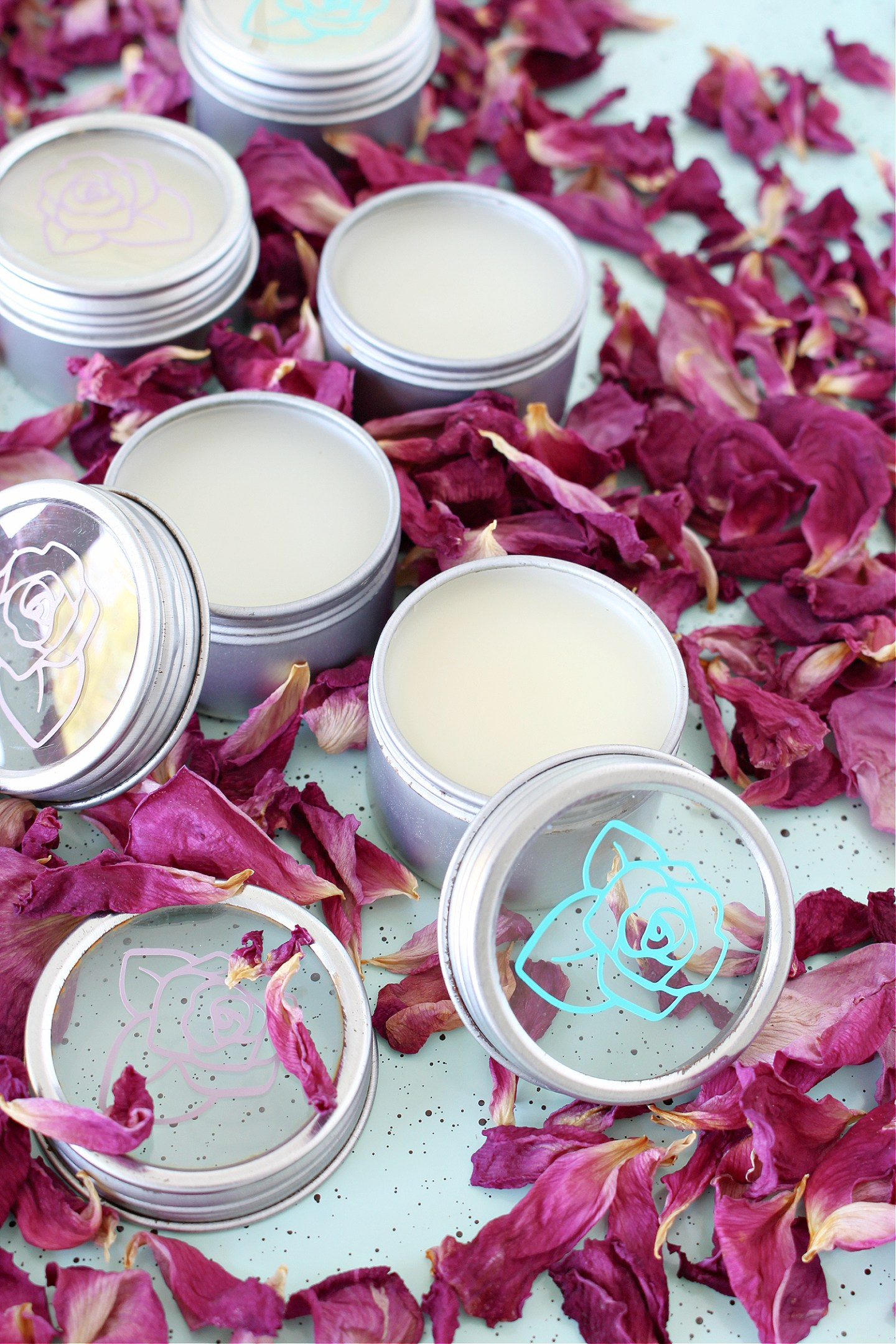 Homemade Rose Skin Products