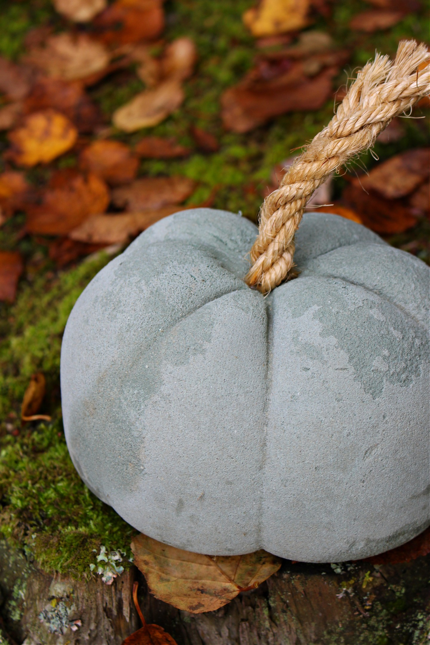 How to Make Concrete Pumpkins without a Mold