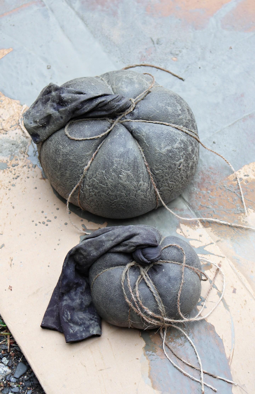 Concrete Pumpkin DIY Tutorial