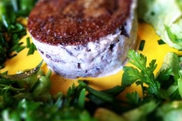 galette et rillettes de sardines