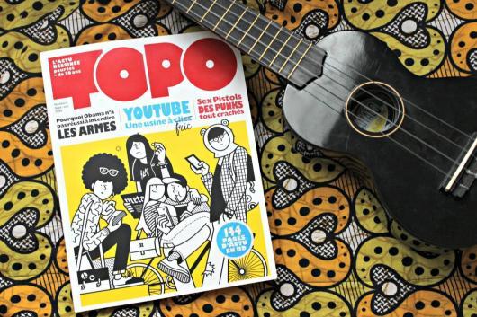 La couverture du magazine Topo