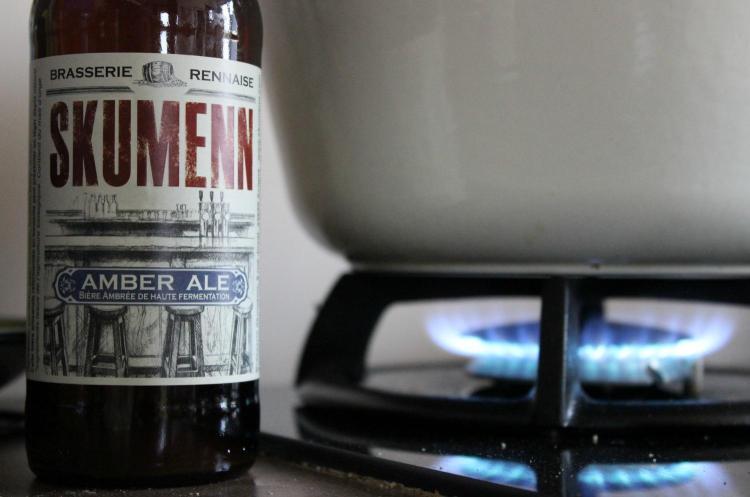 Un bœuf à la bière à la Skumenn