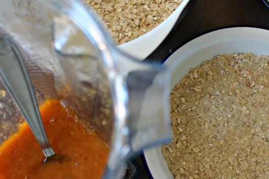 Recette des carrés à l'abricot