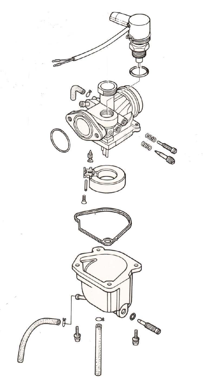 medium resolution of keihin honda aero carb