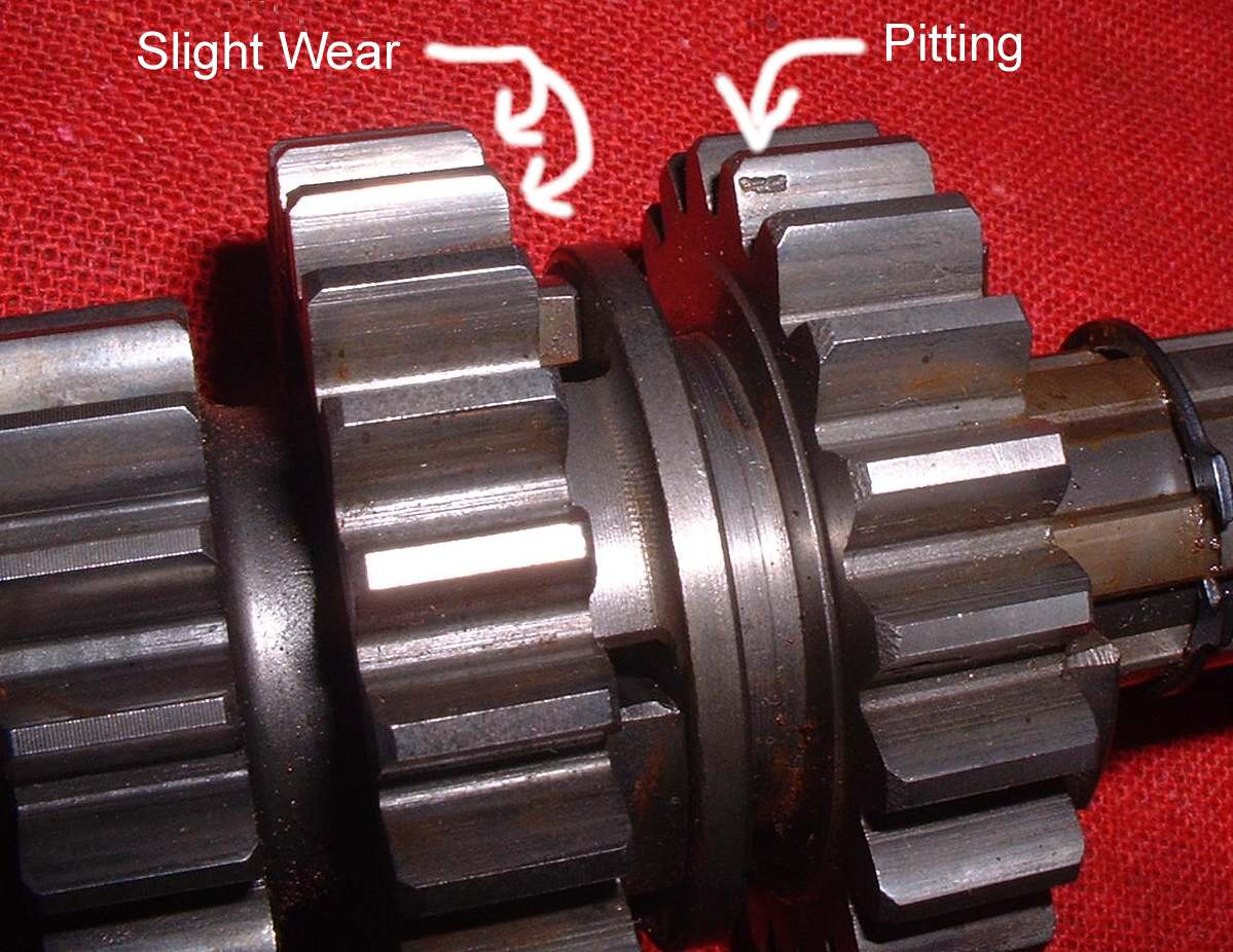 hight resolution of gear teeth
