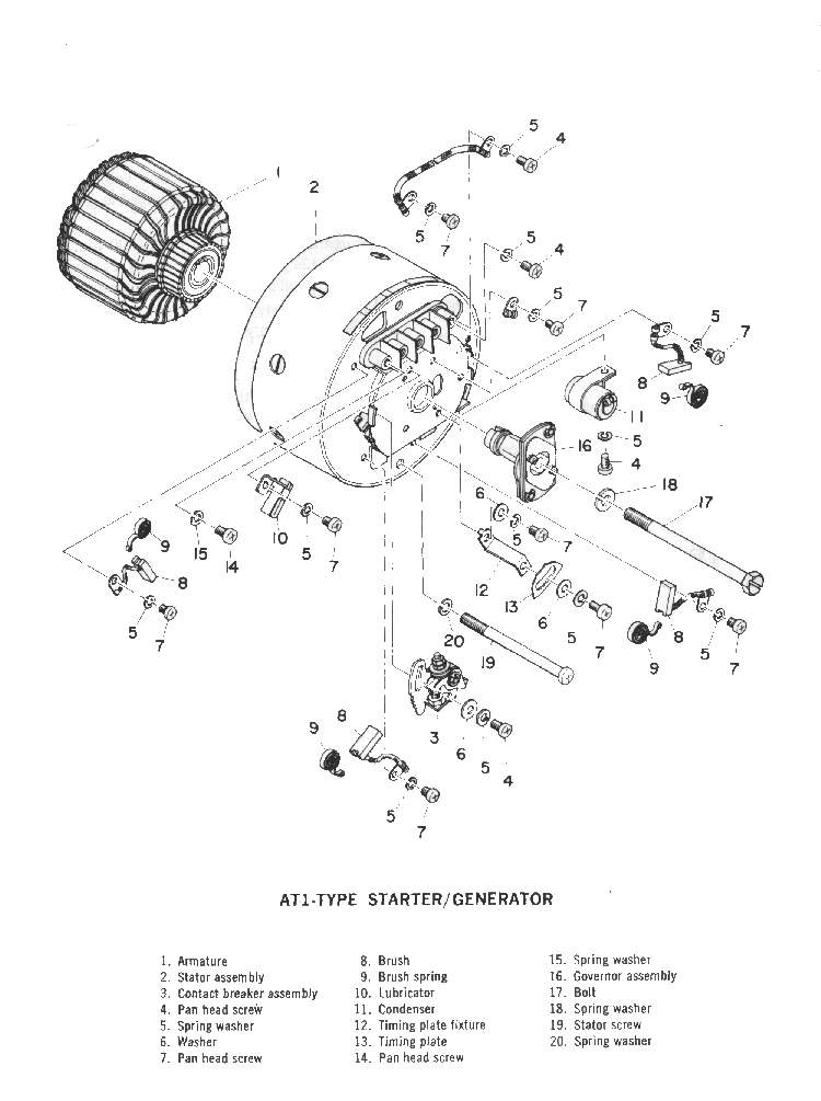 Motorcycle Stator Diagram : 25 Wiring Diagram Images