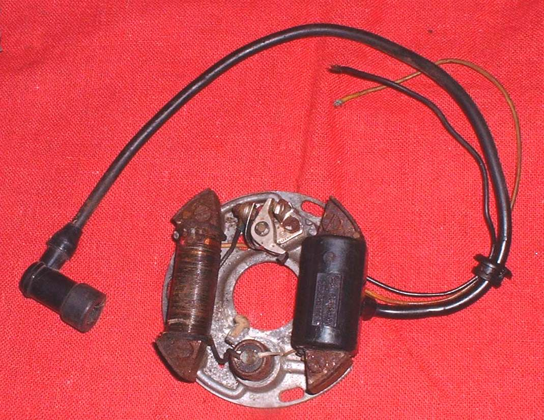 wiring diagram for ignition coil with points logic venn syllogism dan's motorcycle flywheel magnetos