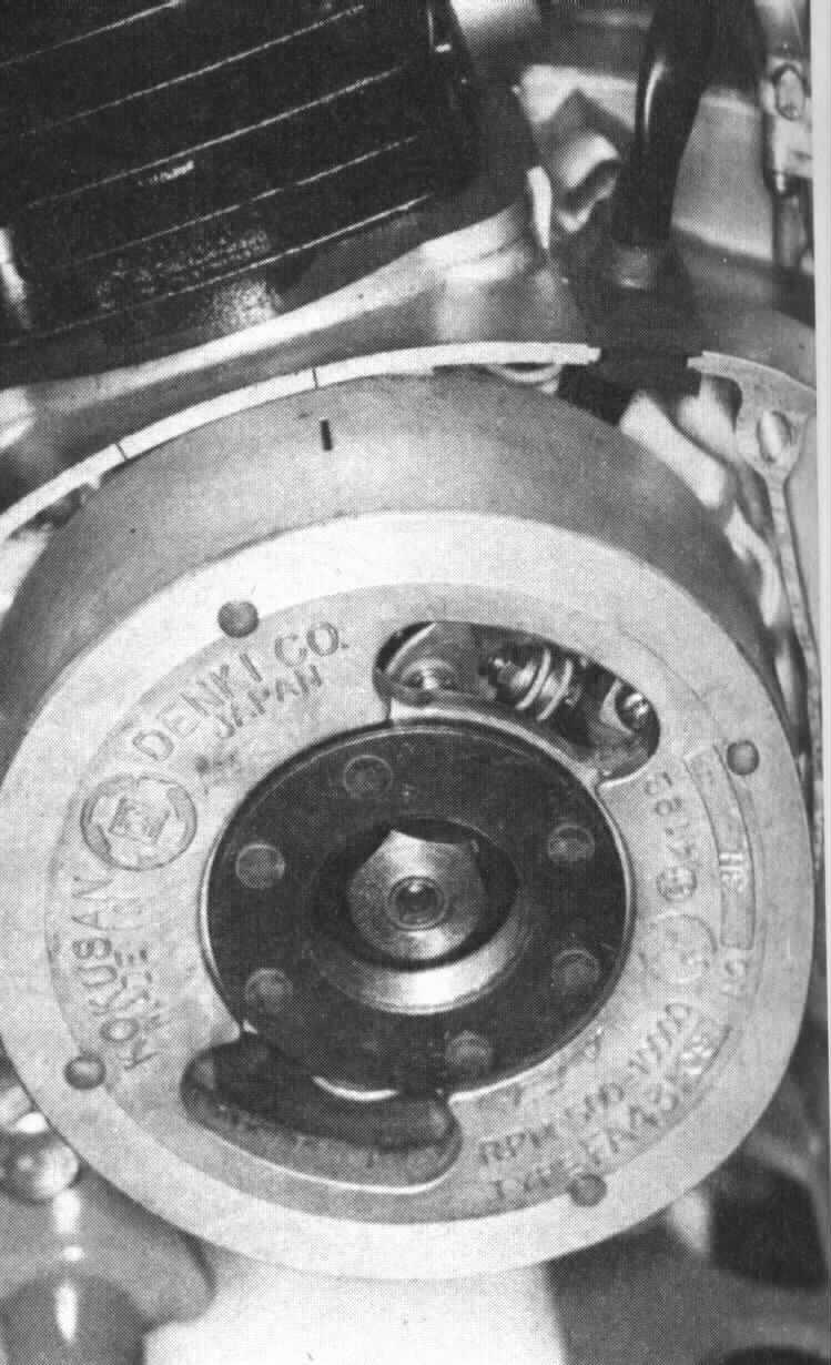 medium resolution of magneto mag hodaka the timing marks are