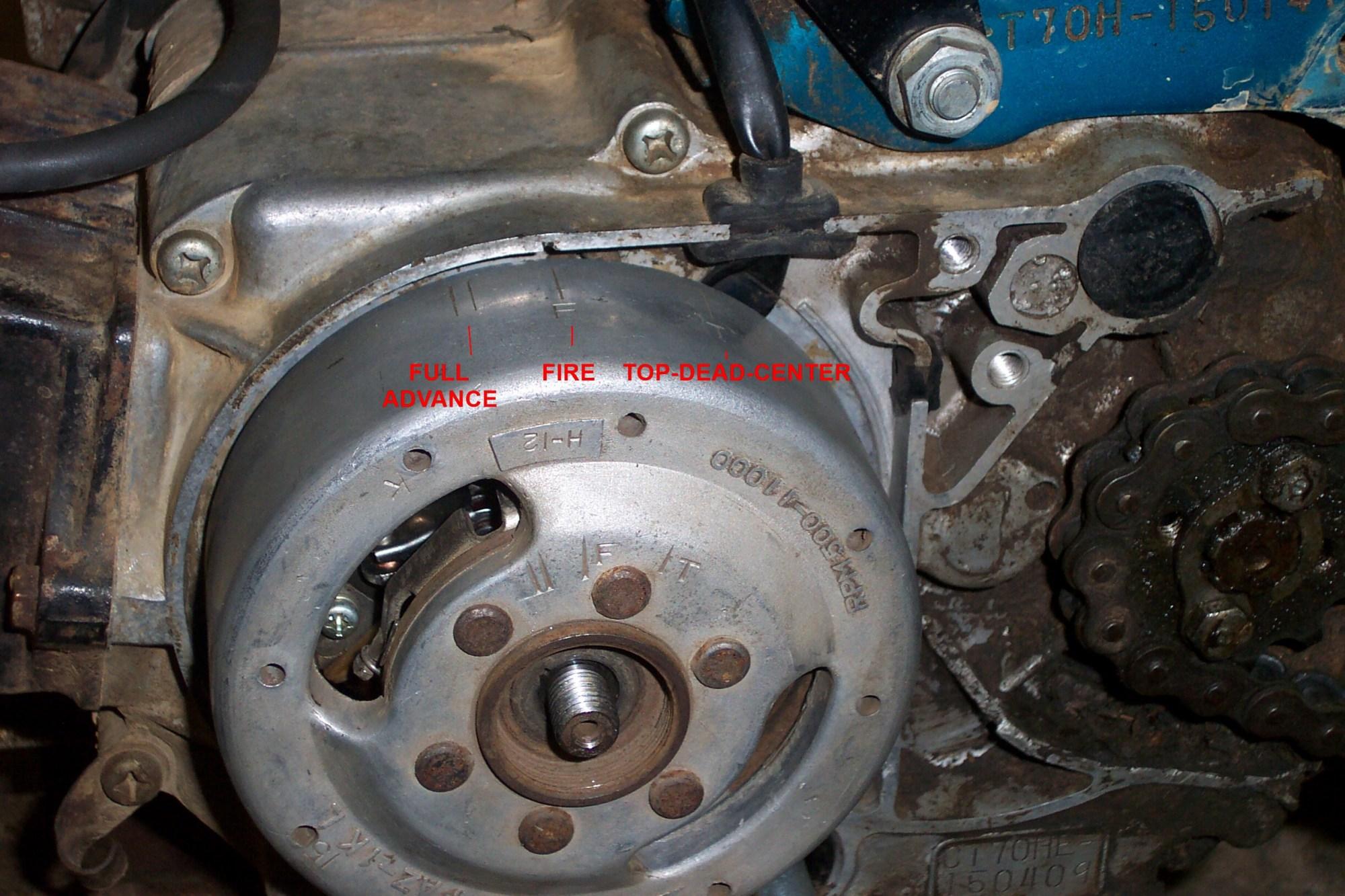 hight resolution of dan s motorcycle flywheel magnetos rh dansmc com honda 185 three wheeler yamaha three wheeler