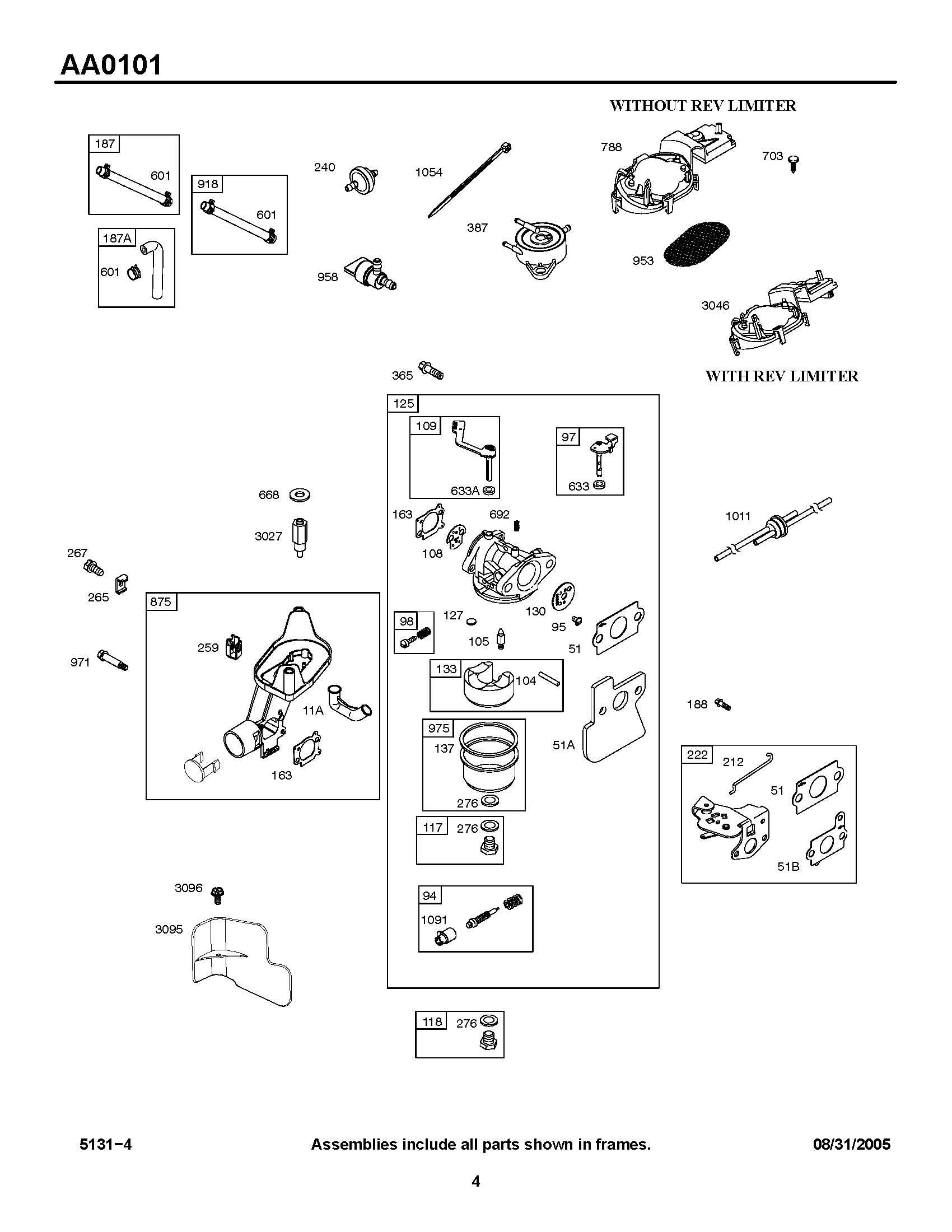 Briggs & Stratton 5hp Outboard Parts Manual