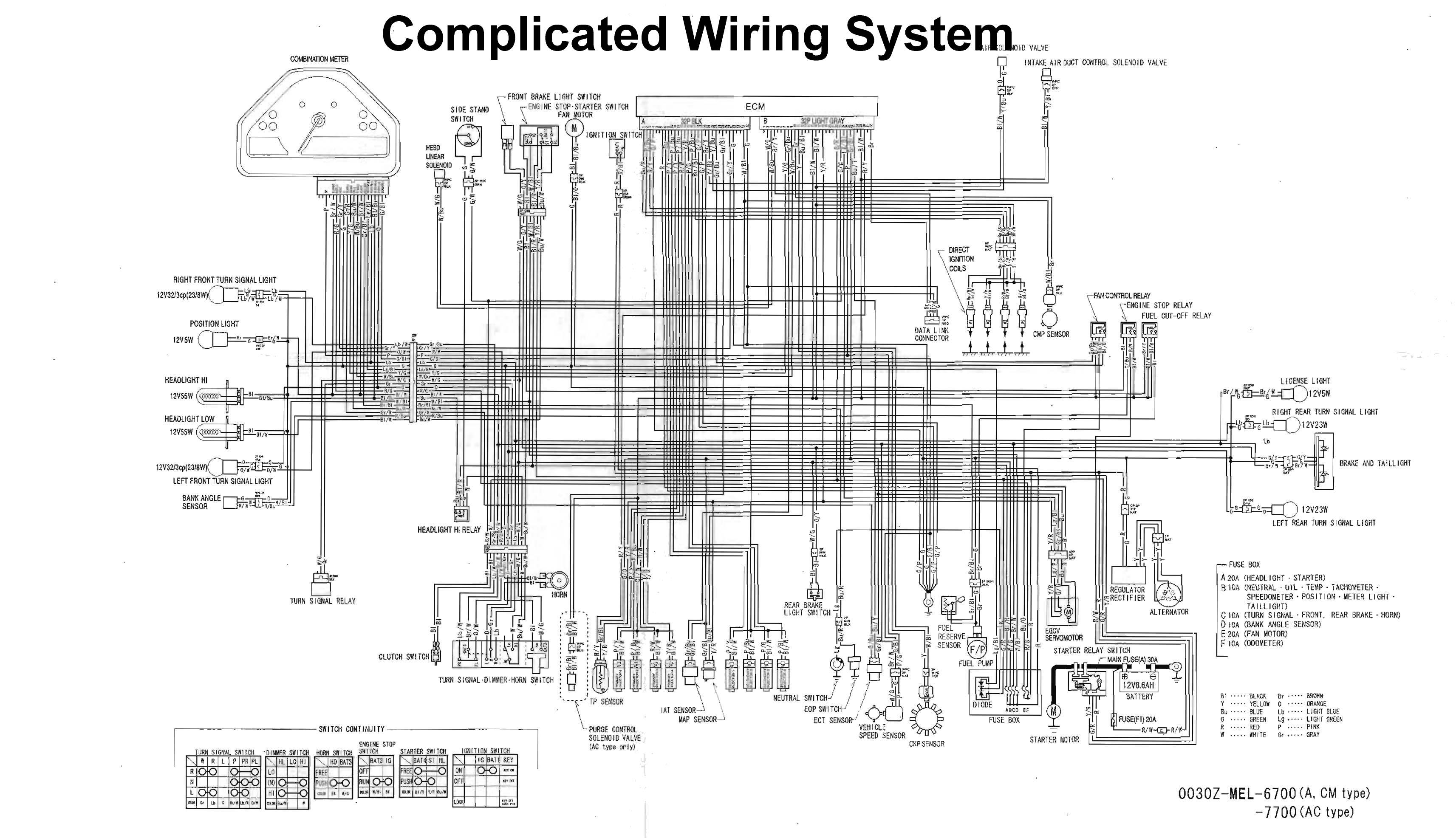 Dan S Motorcycle Wiring Diagrams