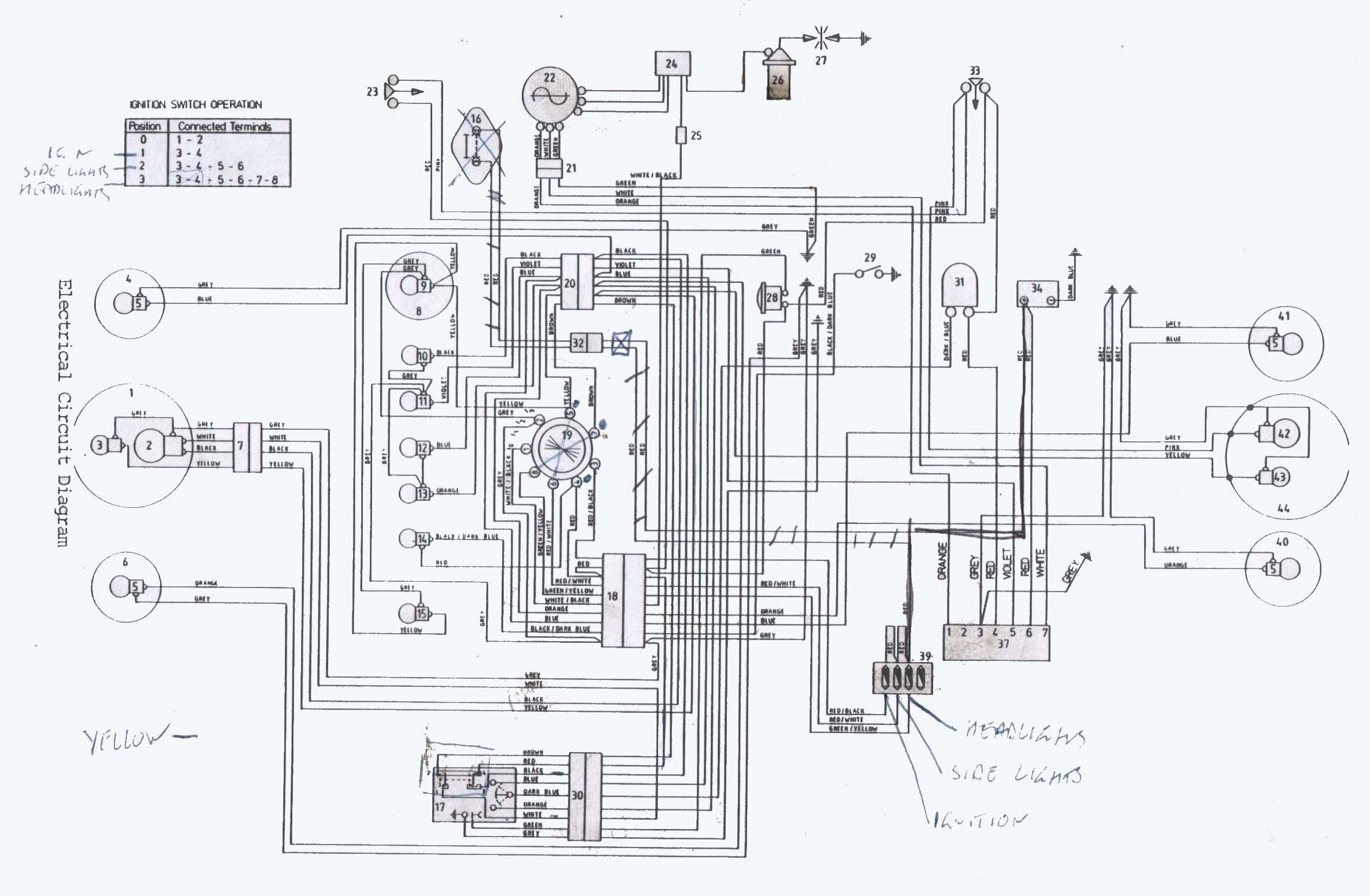 norton commando wiring diagram 1986 mazda b2000 radio dan 39s motorcycle quotvarious systems and diagrams quot