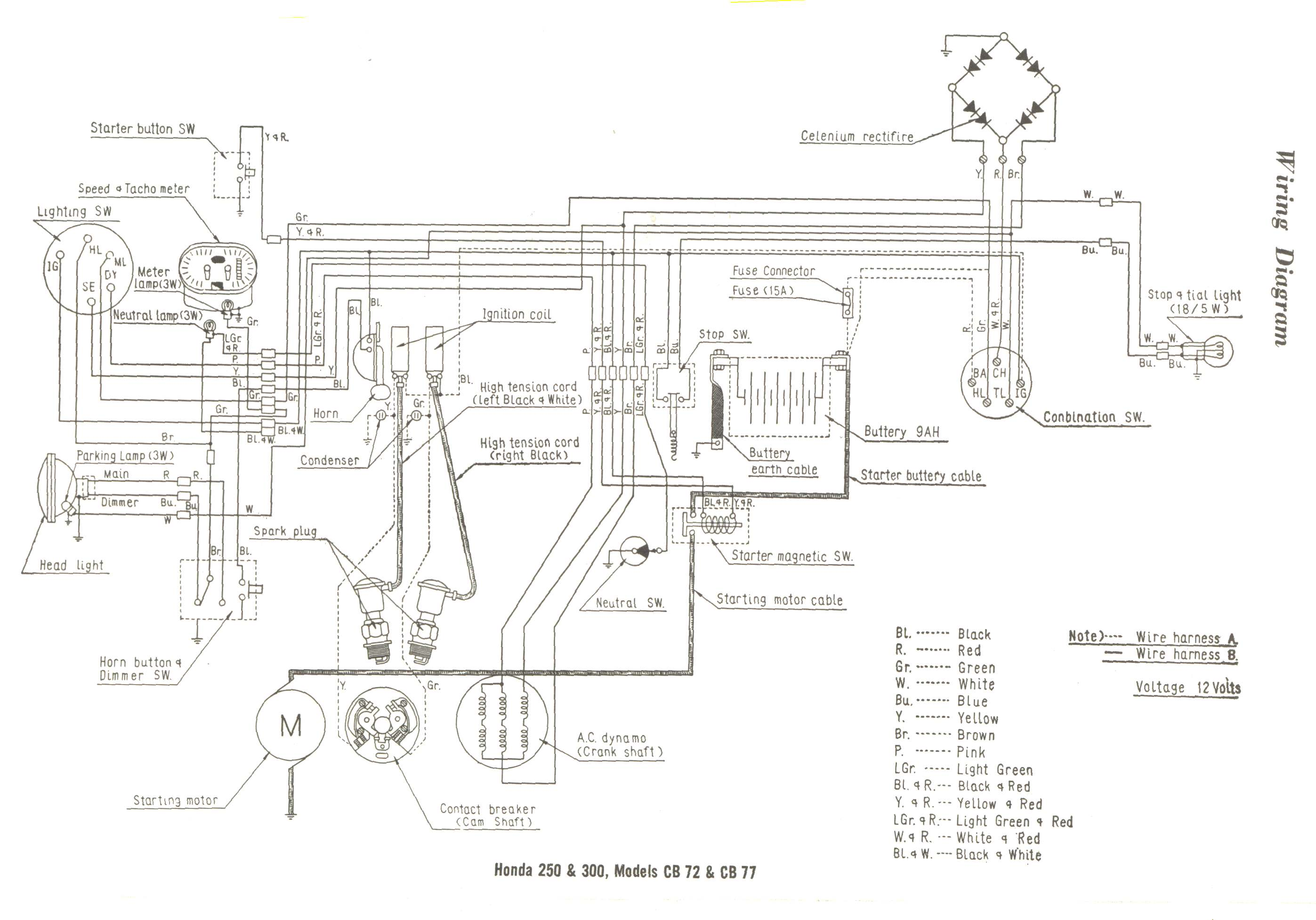 Harley Knucklehead Wiring Diagram