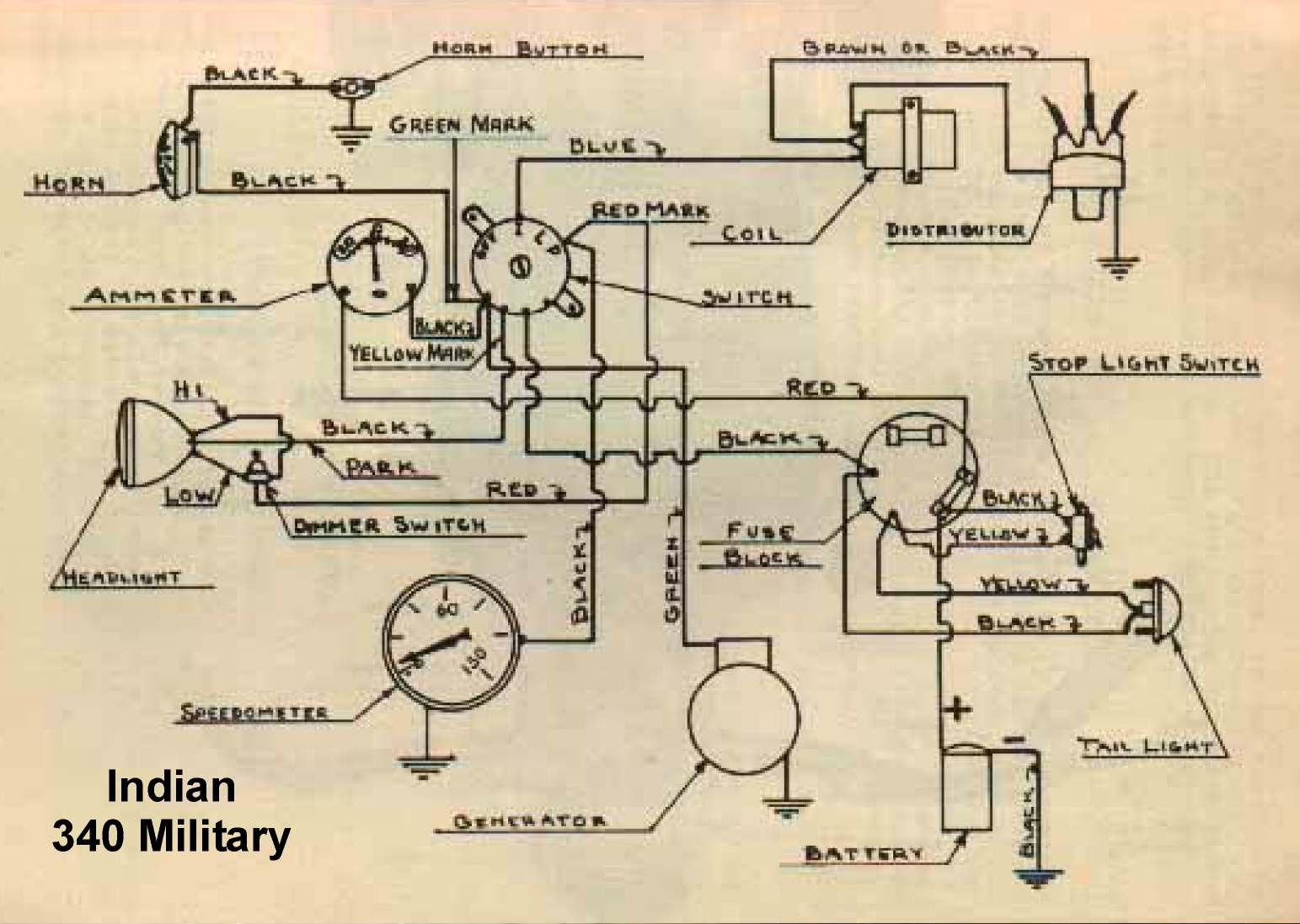 hight resolution of 1946 indian chief wiring diagram1946 indian chief wiring diagram gallery wiring 2 indian 340 military 1940