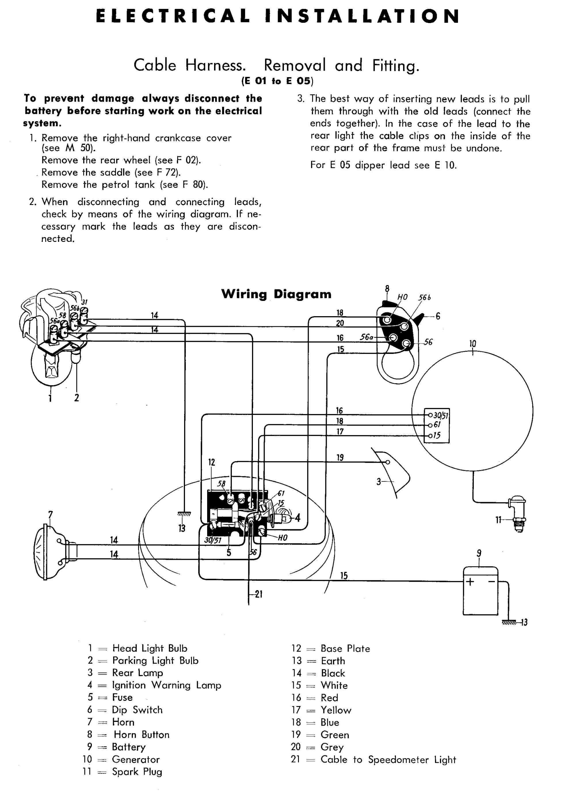 1994 harley davidson wiring diagram parallel for lights dan's motorcycle