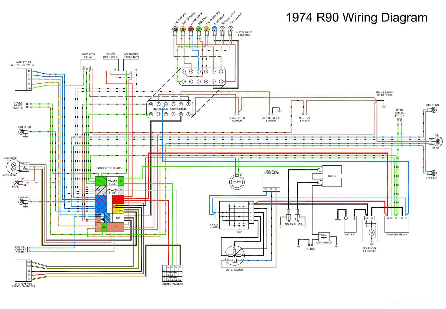 hight resolution of dan u0027s motorcycle various wiring systems and diagrams 1974 norton commando wiring diagram 13