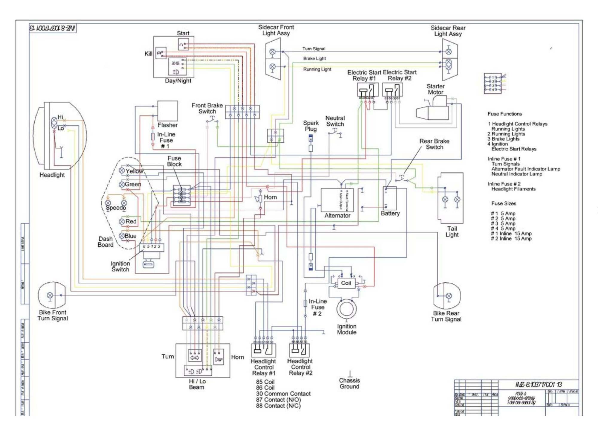 Cb500t Wiring Diagram -