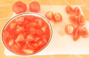 tomate de jardin preparation