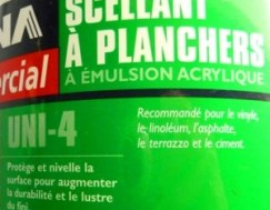 scellant a planchers