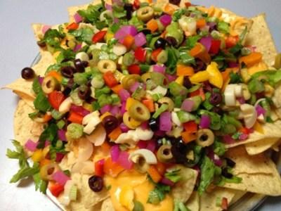 Nachos - légumes