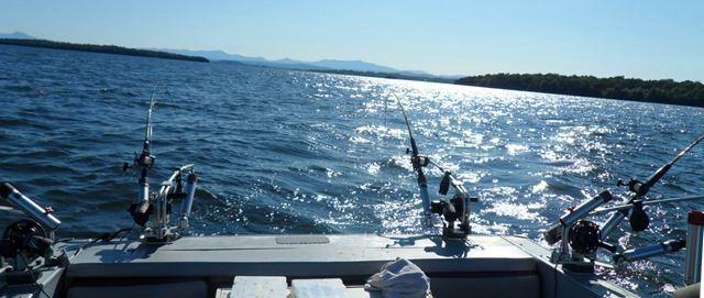 peche lac ontario bateau