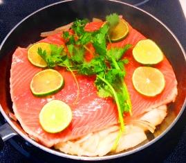 cuisson saumon poele