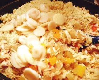 poulet au riz - cuisson tp