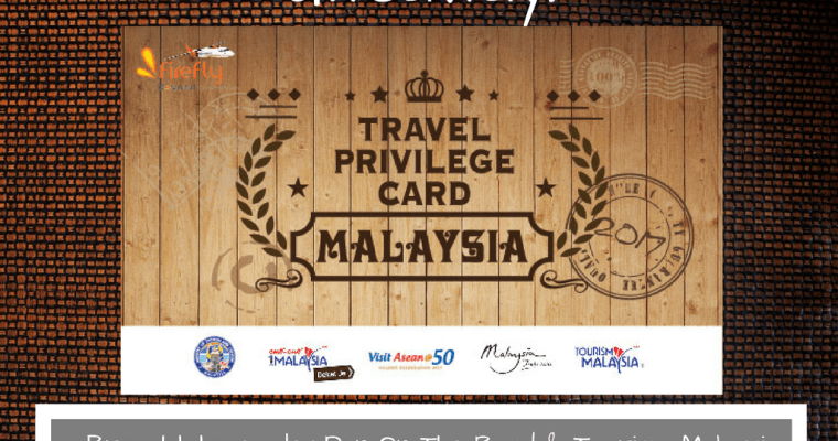 Malaysia Travel Privilege Card [Giveaway Closed]