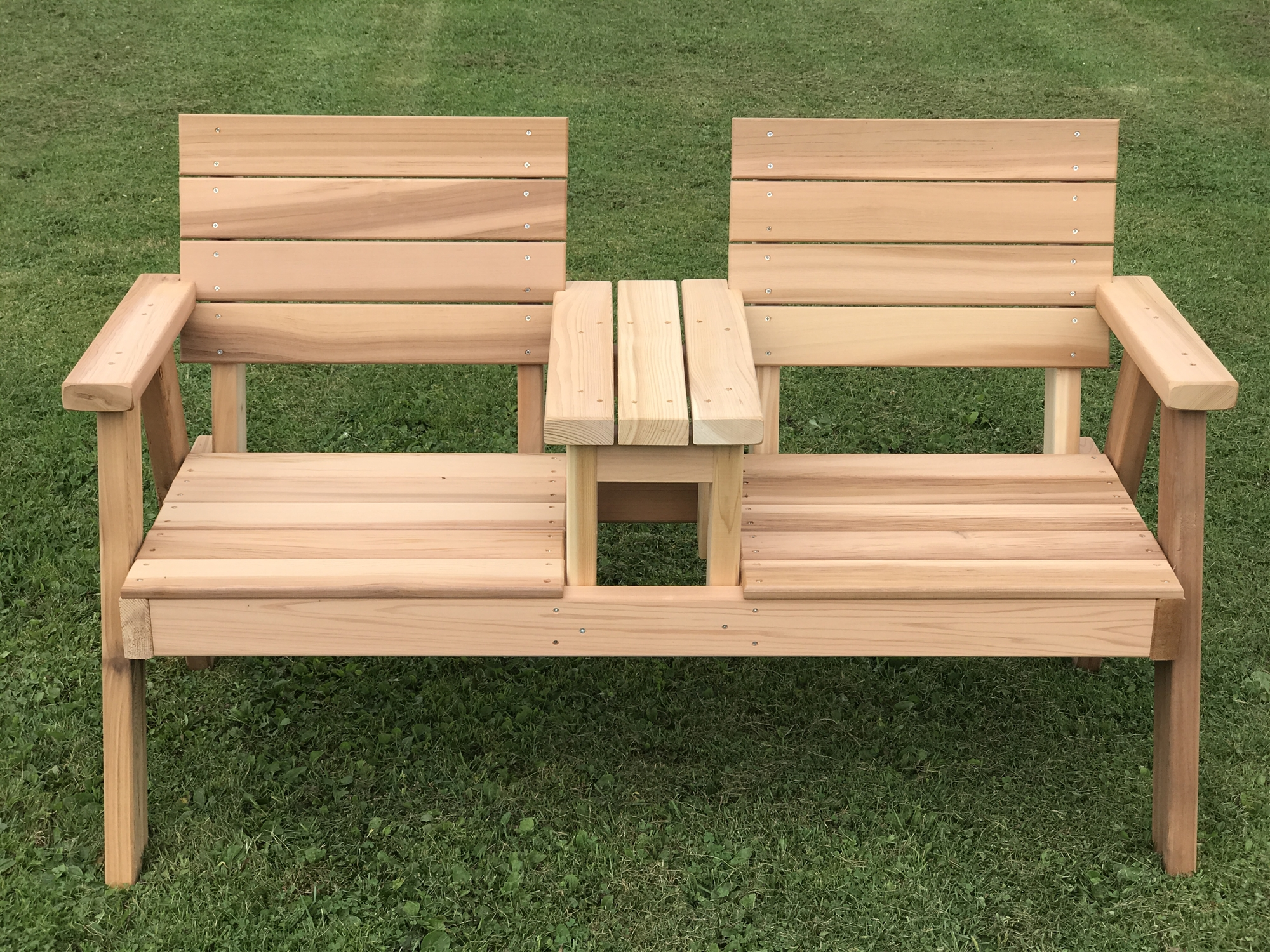 tete a chair outdoor kneeling posture benefits joined flat seat handcrafted hillsfield e bench