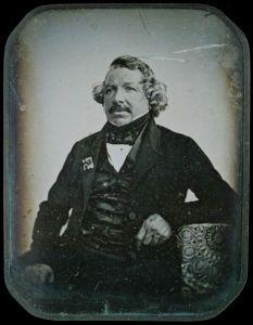 Daguerréotype de Louis Daguerre