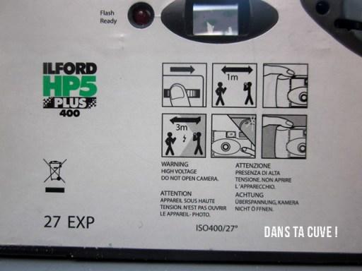 La seule notice d'utilisation présente sur l'appareil