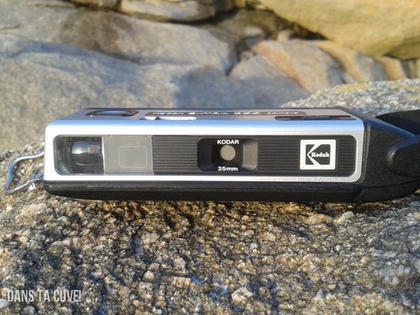 Le devant du Kodak Ektar 250
